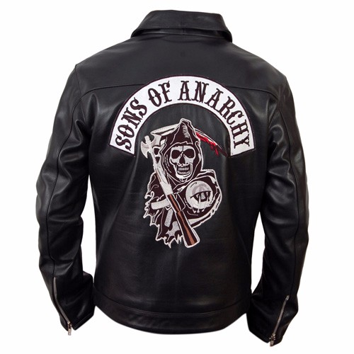 Sons Of Anarchy Black Jacket