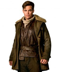Wonder Woman Steve Trevor Fur Coat