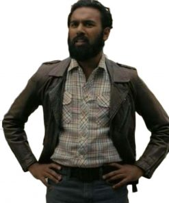 Ahmad Tenet Brown Jacket