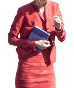 Tenet Elizabeth Debicki Kat Red Blazer