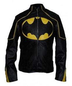 The Lego Batman Black Leather Jacket
