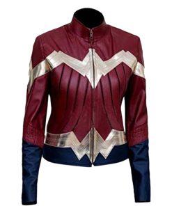 Wonder Woman Diana Leather Jacket