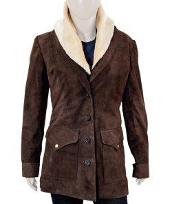 Yellowstone Beth Dutton Brown Coat