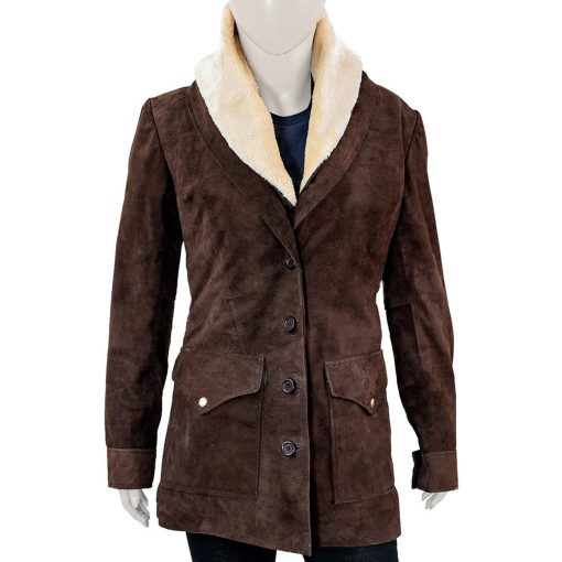 Yellowstone Beth Dutton Brown Coat