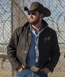 Yellowstone Cole Hauser Black Jacket