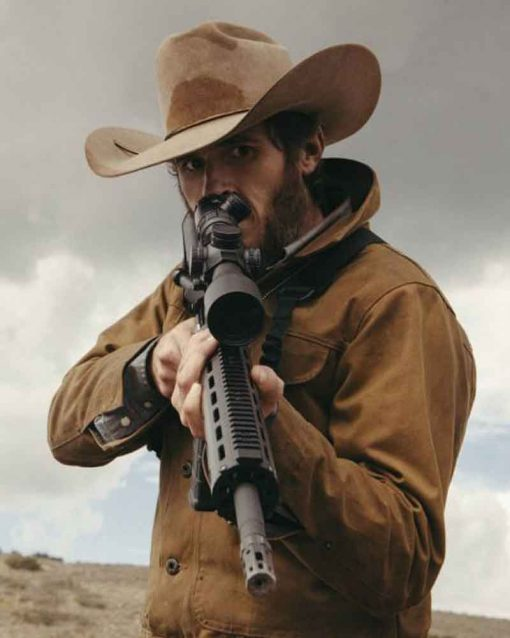 Lee Dutton Yellowstone Brown Cotton Jacket