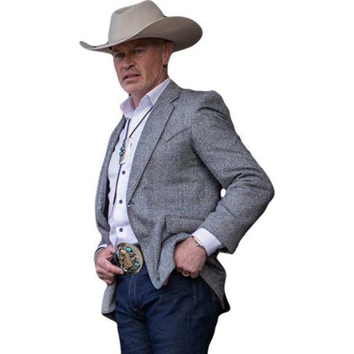 Yellowstone Malcolm Beck Grey Blazer