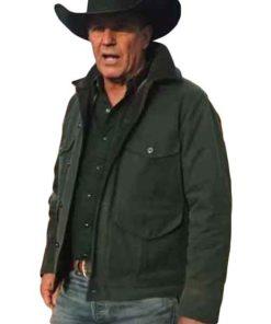 Yellowstone S02 John Dutton Green Jacket