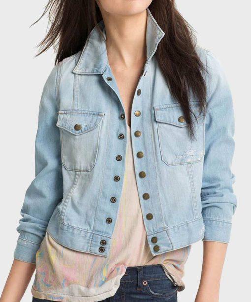 Yellowstone S03 Monica Dutton Blue Denim Jacket