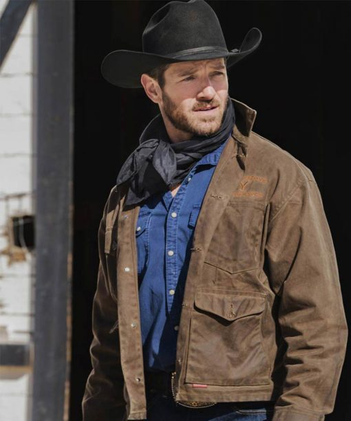Yellowstone S03 Ryan Ian Bohen Jacket