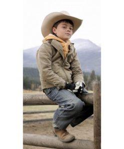 Yellowstone S03 Tate Dutton Brown Jacket
