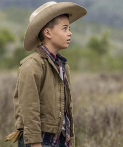 Yellowstone Tate Dutton Brown Jacket
