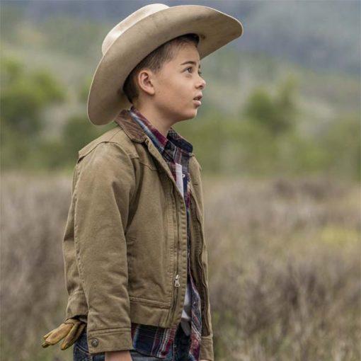 Yellowstone Tate Dutton Brown Jacket