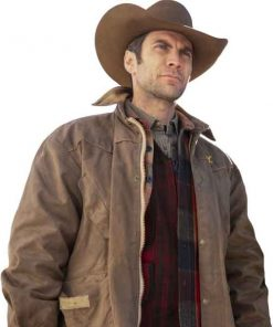 Yellowstone Wes Bentley Brown Jacket