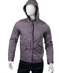 Amy Bendix The Punisher Purple Jacket