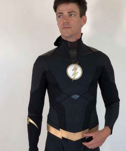 Barry Allen Flash Black Jacket
