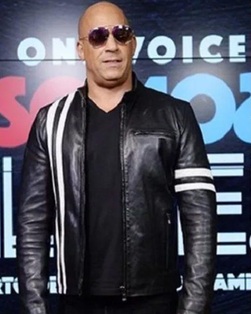 Bloodshot Ray Garrison Leather Jacket