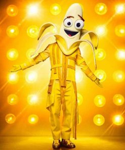 The Masked Singer S03 Bret Michaels Banana Jacket