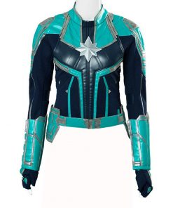 Captain Marvel Green Jacket