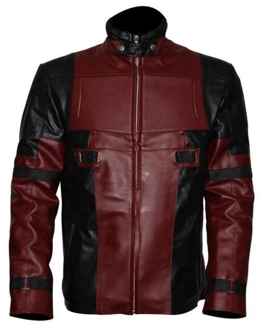 Deadpool Ryan Reynolds Leather Jacket