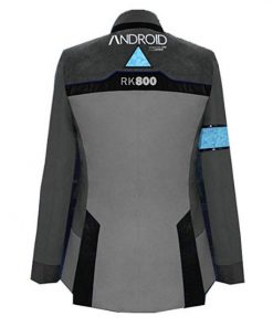 Detroit Become Human Connor Gray Jacket Back