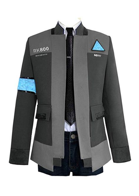 Detroit Become Human Connor Gray Jacket