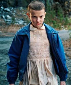 Eleven Stranger Things Blue Jacket