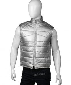 Eurovision Song Contest Will Ferrell Silver Vest