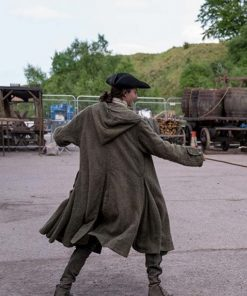 Fergus Outlander Green Hooded Coat