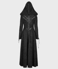 Gothic Dark Angel Black Coat
