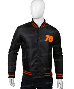 Halloween 78 Nylon Bomber Jacket