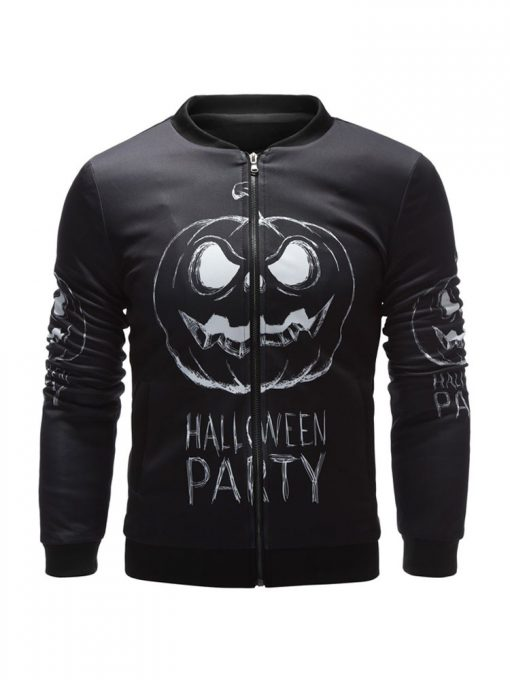 Halloween Party Black Jacket