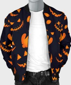 Halloween Pumpkins Pattern Jacket