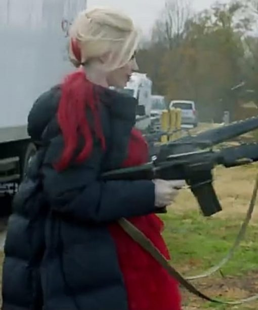 Harley Quinn Suicide Squad Puffer Coat