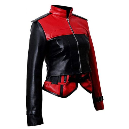 Injustice 2 Video Game Harley Quinn Leather Jacket