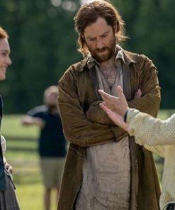 Jamie Fraser Outlander Brown Coat