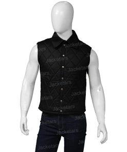 John Dutton Yellowstone Black Quilt Vest.jpg