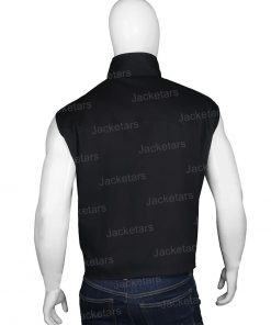 John Dutton Yellowstone Black Vest