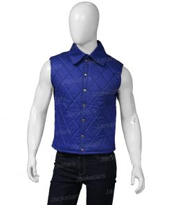 John Dutton Yellowstone Quilt Blue Vest.jpg