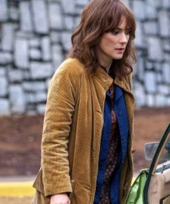 Joyce Byers Stranger Things Brown Coat
