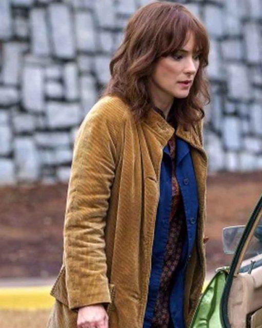 Joyce Byers Stranger Things Brown Coat