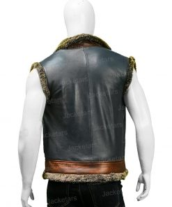 Jumanji Dwayne Johnson black Vest