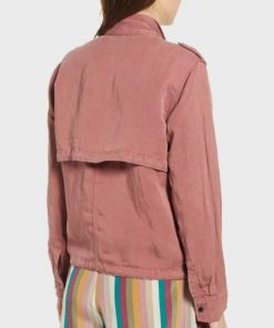 Megan Garner Lucifer Pink Jacket