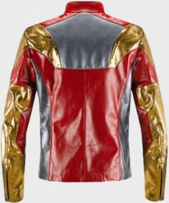 Spiderman Homecoming Iron Man Leather Jacket