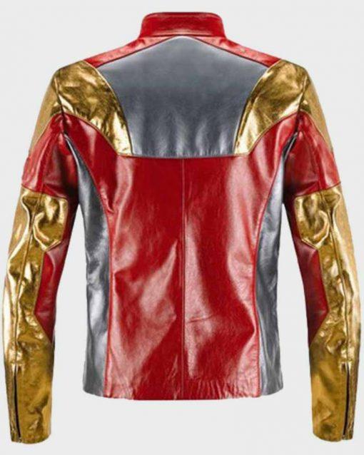Spiderman Homecoming Iron Man Leather Jacket