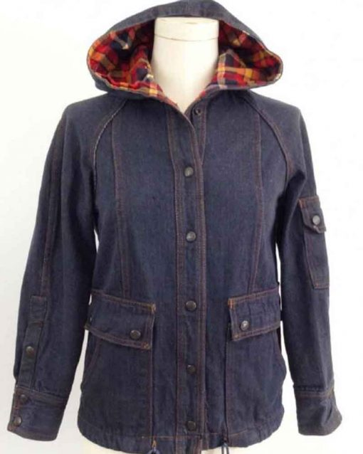 Stranger Things Dustin Henderson Hooded Jacket