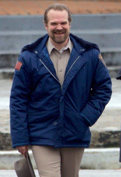 Stranger Things Jim Hopper Hooded Jacket