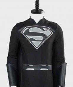 Superman Suit Elseworld Black Jacket