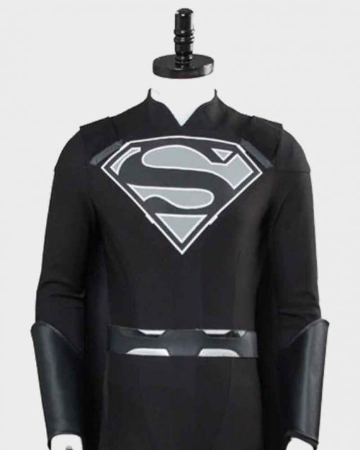 Superman Suit Elseworld Black Jacket