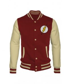 The Flash Letterman Varsity Jacket
